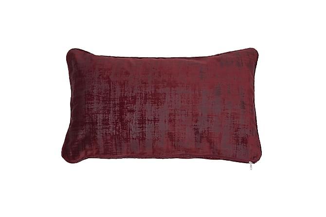 Oneira Putetrekk 30x50 cm Fløyel - Vinrød - Innredning - Tekstiler - Putetrekk