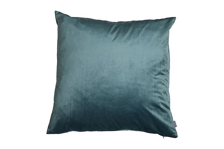 Saana Putetrekk 60x60 cm Fløyel - Aqua - Innredning - Tekstiler - Putetrekk