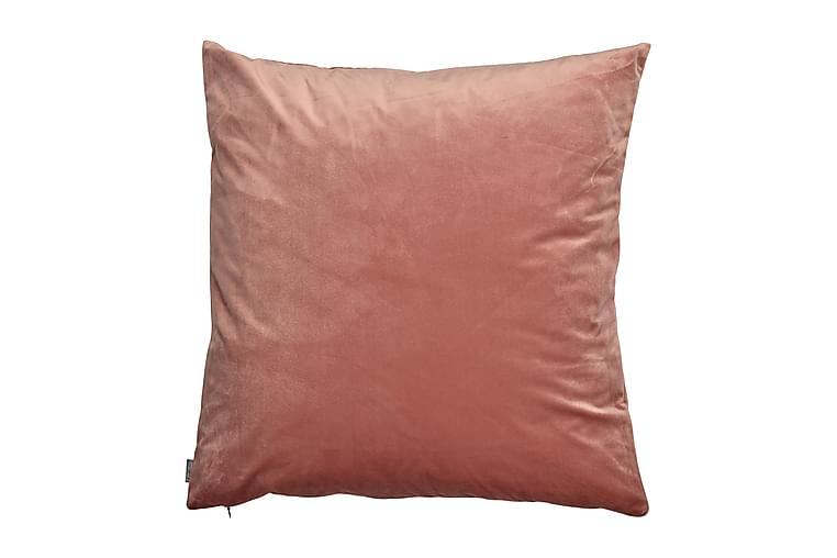 Saana Putetrekk 60x60 cm Fløyel - Persika - Innredning - Tekstiler - Putetrekk