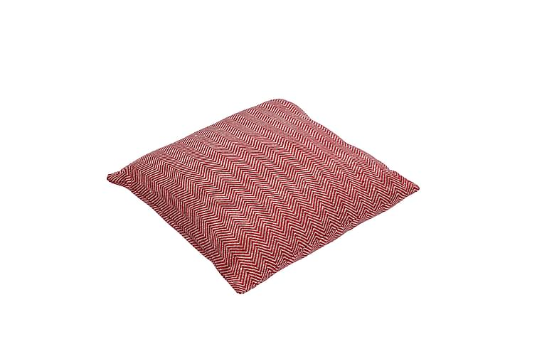 Sarpedon Putetrekk 45x45 Rød/Natur - Innredning - Tekstiler - Putetrekk