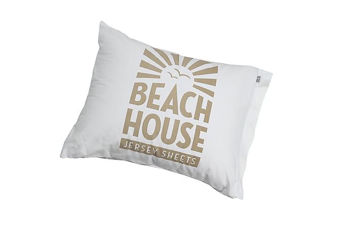 Beach House Putetrekk Beach House Hvit/Beige - Innredning - Tekstiler - Sengetøy