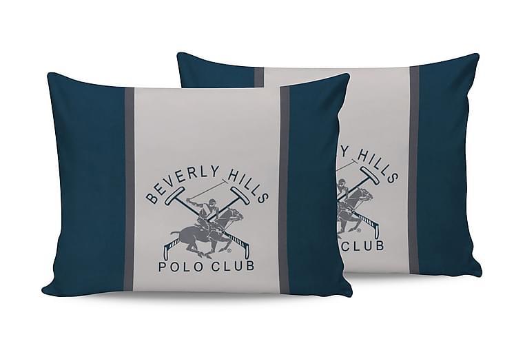 Beverly Hills Polo Club Putetrekk 50x70 cm 2-pk - Grønn/Hvit - Innredning - Tekstiler - Sengetøy