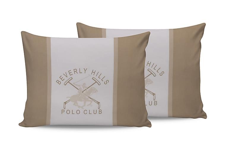 Beverly Hills Polo Club Putetrekk 50x70 cm 2-pk - Krem/Hvit - Innredning - Tekstiler - Sengetøy