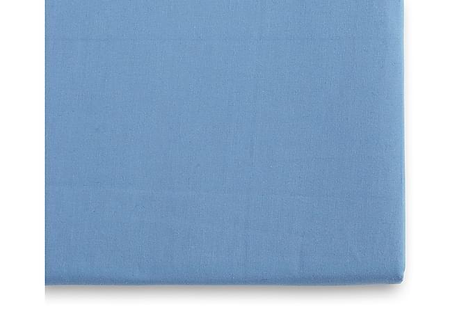 Borganäs Fasongsydd Laken 160x200 cm - Mellomblå - Innredning - Tekstiler - Sengetøy