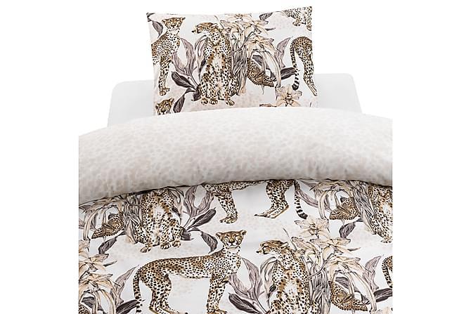 Cheetah Sengesett 2-delt 150x210 cm - Grå - Innredning - Tekstiler - Sengetøy