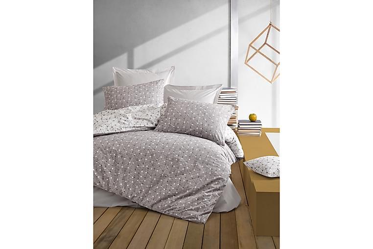 Cotton Box Ranforce Sengesett - Brun - Innredning - Tekstiler - Sengetøy