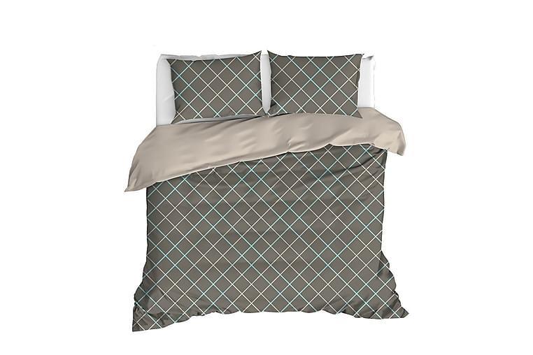 EnLora Home Ranforce Sengesett - Brun - Innredning - Tekstiler - Sengetøy