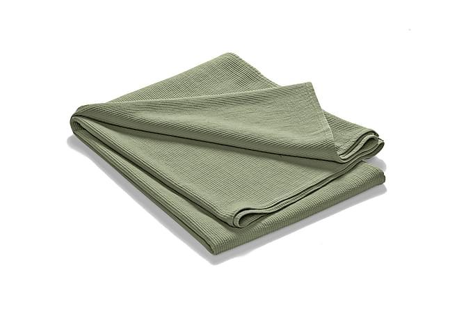 Etol Sengeteppe Steinvasket 260x260 cm - Salvie - Innredning - Tekstiler - Sengetøy