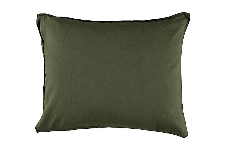 Gripsholm Putetrekk Linnemix Forest Green 50x60 cm - Gripsholm - Innredning - Tekstiler - Sengetøy