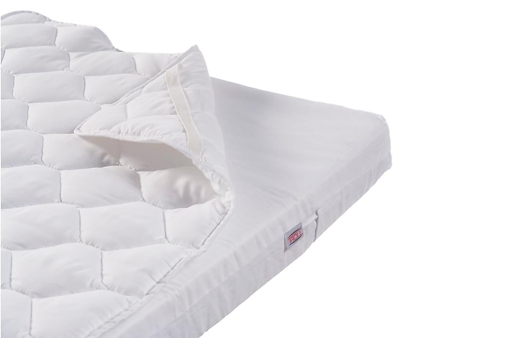 Madrassbeskytter 90x200 cm - Hvit - Innredning - Tekstiler - Sengetøy