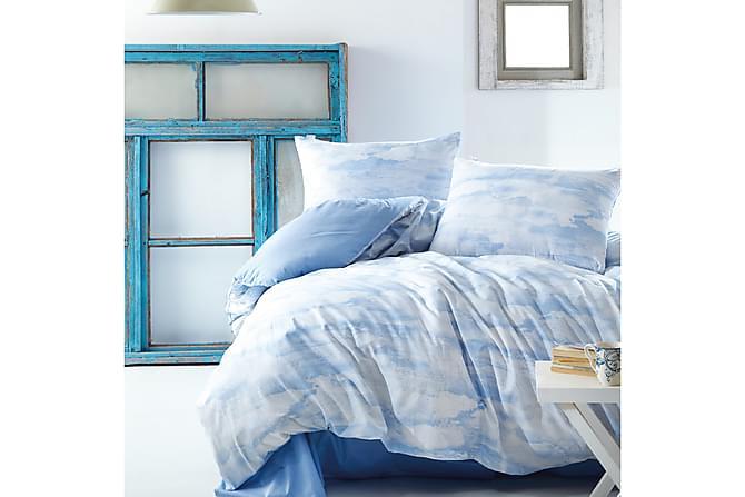 Marie Claire Sengetøy Kingsize 4-deler - Blå - Innredning - Tekstiler - Sengetøy