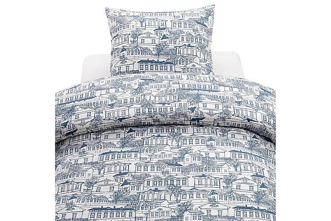 Stad Sengesett 2-delt 150x210 cm - Blå - Innredning - Tekstiler - Sengetøy