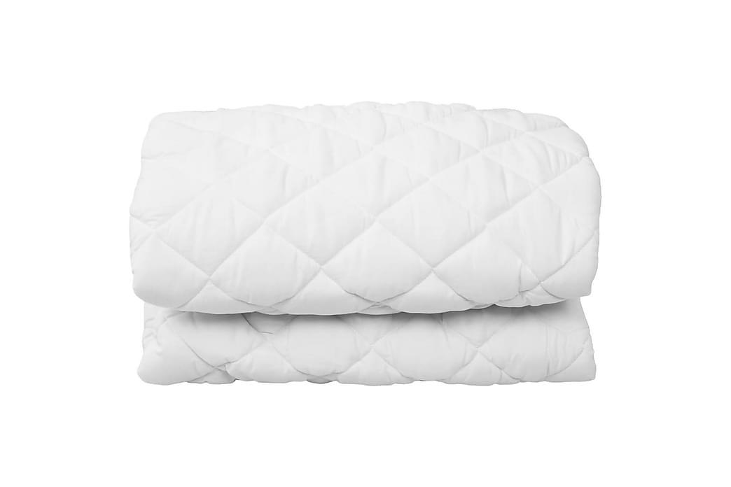 Vattert madrassbeskytter hvit 180x200 cm lett - Innredning - Tekstiler - Sengetøy