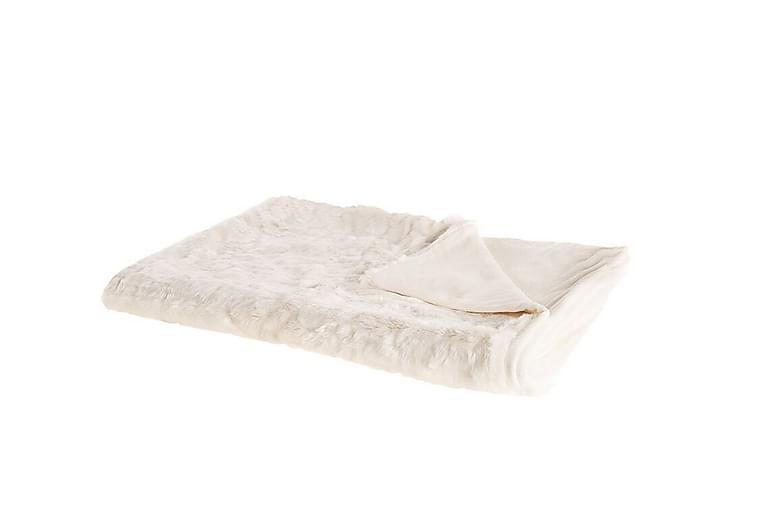 Tourza Pledd 150x200 cm Dobbeltsidig - Hvit - Innredning - Tekstiler - Tepper & pledd