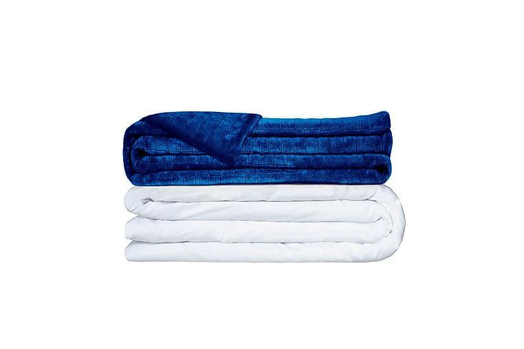 Vektdyne 100x150 cm 5 kg Mørkeblå - Gravity Blanket - Innredning - Tekstiler - Tepper & pledd