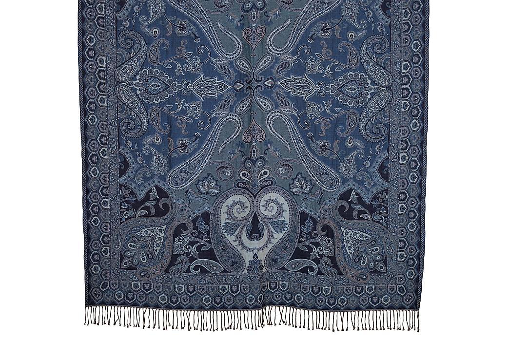 Wyona Pledd 130x170 cm - Blå - Innredning - Tekstiler - Tepper & pledd
