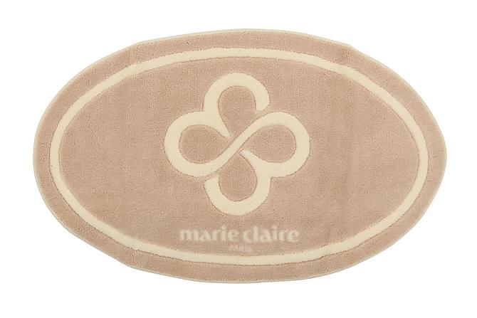 Marie Claire Badematte 66x107 - Beige/Sand - Innredning - Tepper & Matter - Baderomsmatte