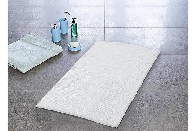 Soft Baderomsmatte 13x13 - Hvit - Innredning - Tepper & Matter - Baderomsmatte