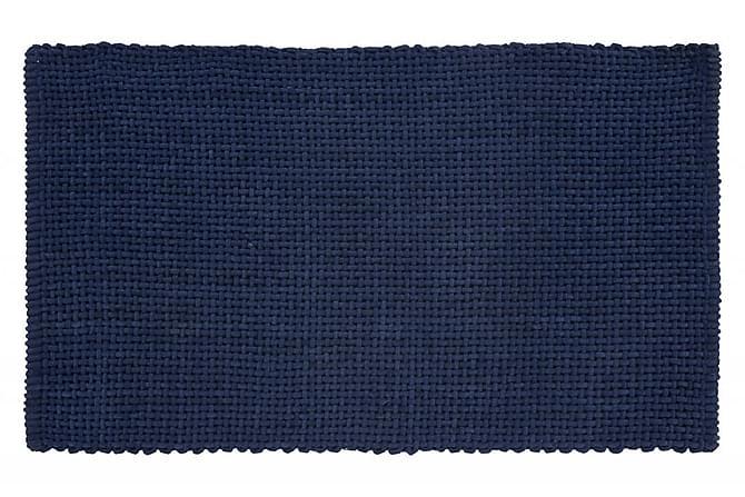 Turiform BAskeet Matte 100x60 - Havsblå - Innredning - Tepper & Matter - Baderomsmatte