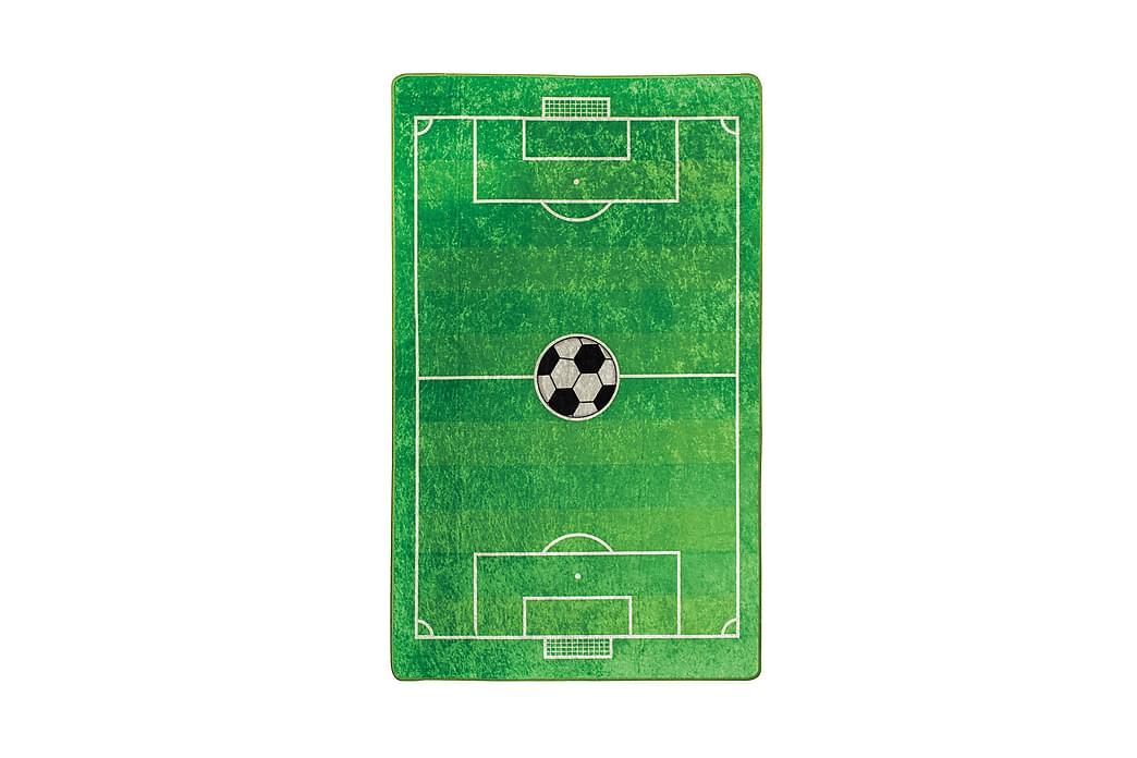 Barn Matte Fotball (100 x 160) - Innredning - Tepper & Matter - Barnetepper
