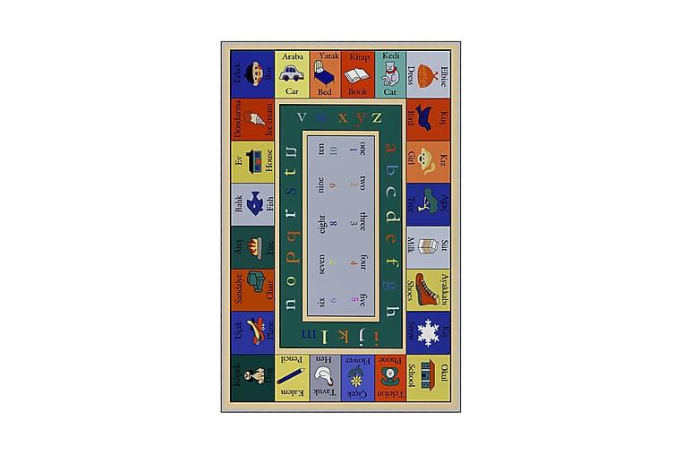 Bebbell Barnematte 140x220 cm - Flerfarget - Innredning - Tepper & Matter - Barnetepper