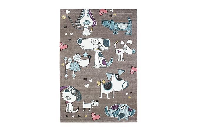 Doggy Love Matte 160x230 - Grå - Innredning - Tepper & Matter - Barnetepper