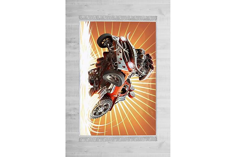 Haderele Barnematte 100x150 cm - Flerfarget - Innredning - Tepper & Matter - Barnetepper