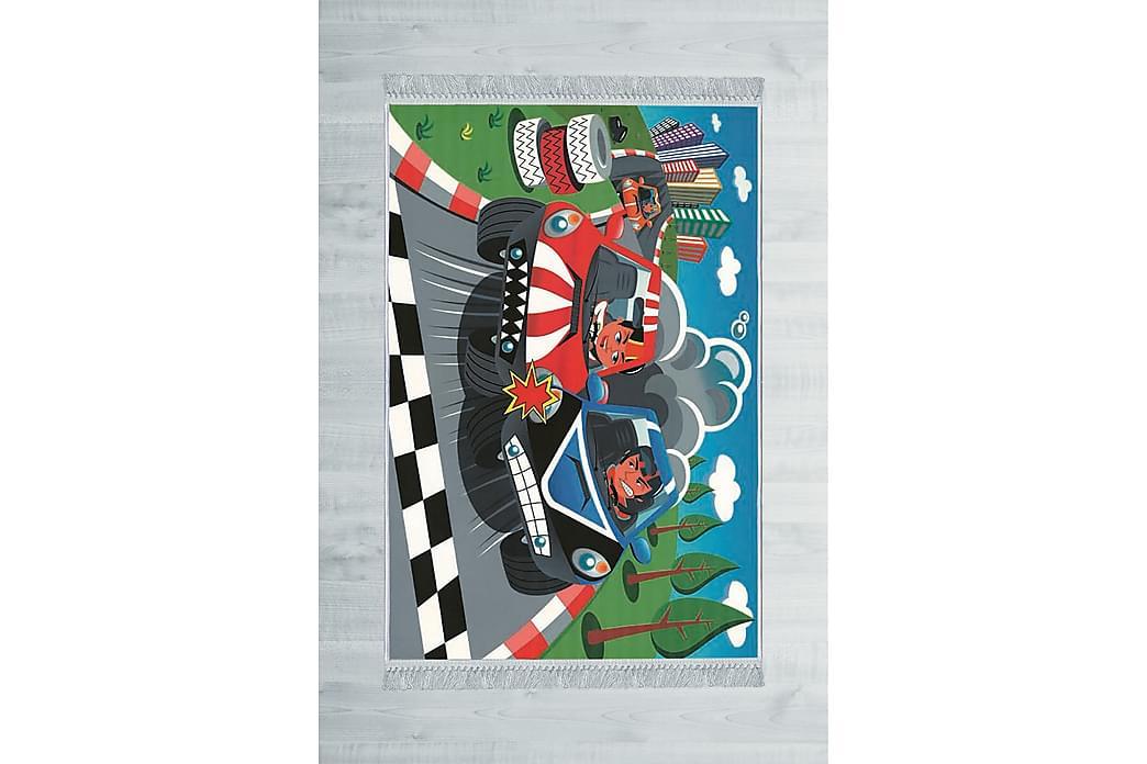 Wenelli Barnematte 100x150 cm - Flerfarget - Innredning - Tepper & Matter - Barnetepper