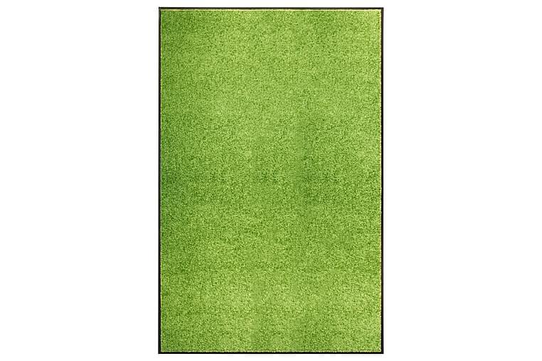 Dørmatte vaskbar grønn 120x180 cm - grønn - Innredning - Tepper & Matter - Dørmatte og entrématte