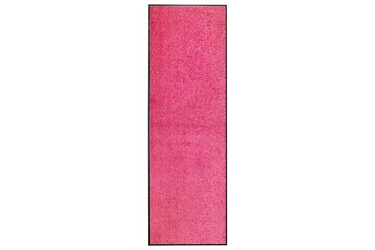 Dørmatte vaskbar rosa 60x180 cm - Rosa - Innredning - Tepper & Matter - Dørmatte og entrématte