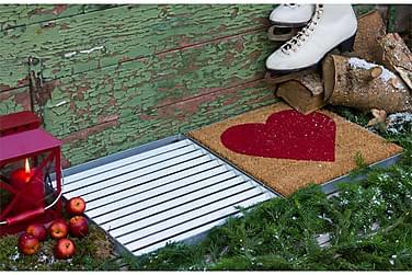 Long Julpaket 80x40 Galler med Hjerte