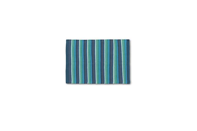 ETOL Stripe Bomullsmatte 50x80 - Turkis - Innredning - Tepper & Matter - Filletepper