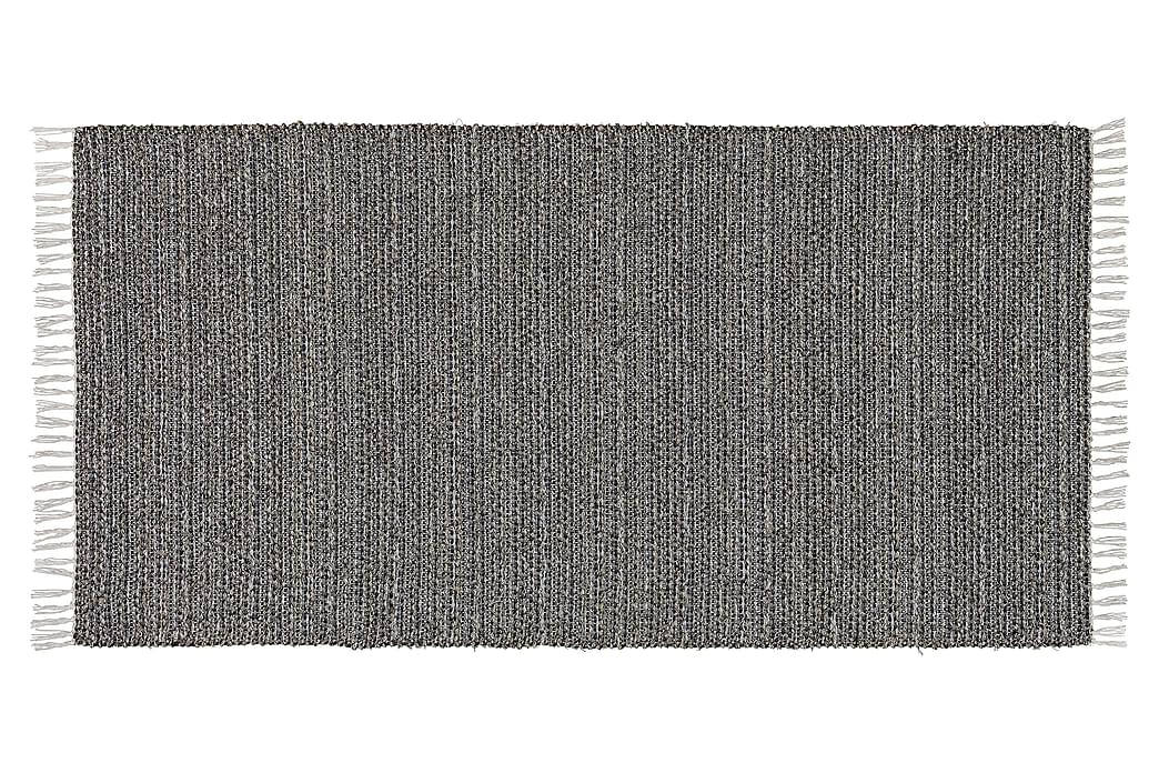 Svea Matte Miks 200x300 PVC/ Bomull/Polyester Grafitt - Innredning - Tepper & Matter - Filletepper