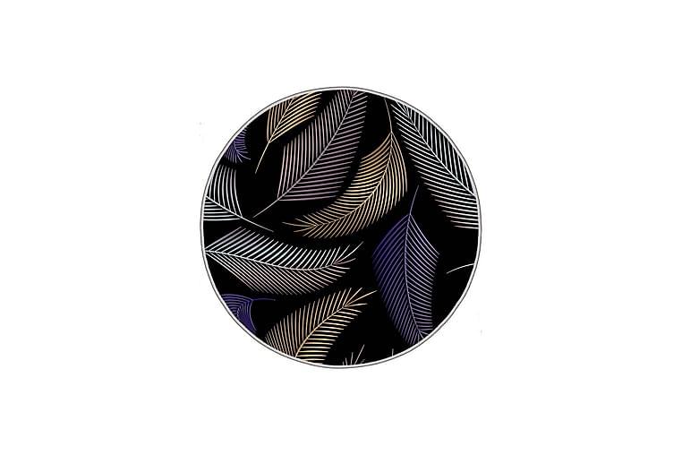 Homefesto Matte 160 cm Rund - Multifarget - Innredning - Tepper & Matter - Friezematter