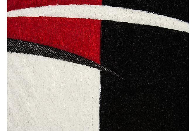 London Patch Friezematte 200x290 - Rød - Innredning - Tepper & Matter - Friezematter