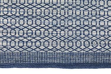 PADOVA Matte 250x70 Blå