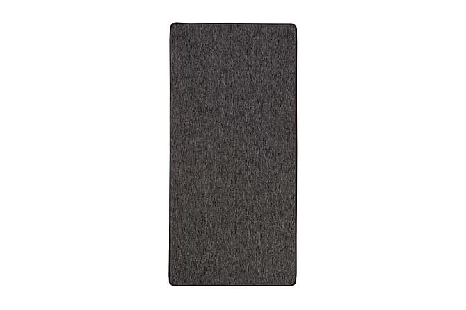 Woodard Gummerad Gangmatte 80x250 - Svart - Innredning - Tepper & Matter - Gangmatter