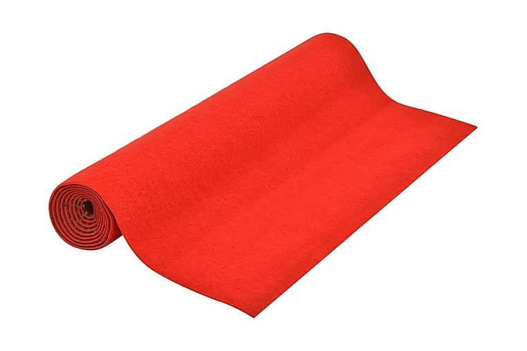 Kunstgress med knotter 10x1 m rød - Rød - Innredning - Tepper & Matter - Nålefiltmatter & kunstgressmatter