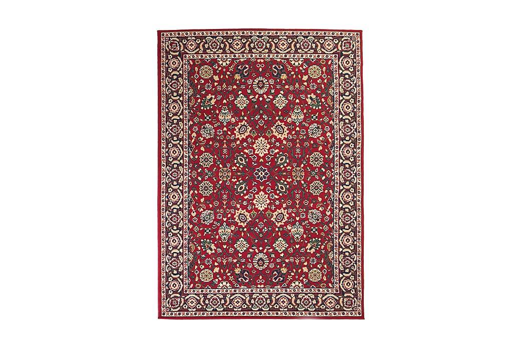 Orientalsk teppe persisk design 80x150 cm rød/ beige - Rød/Beige - Innredning - Tepper & Matter - Orientalske tepper