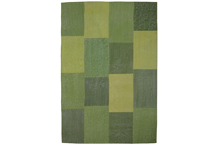 Gesslick Matte Creek Grønn 120x170 cm - Innredning - Tepper & Matter - Patchwork tepper
