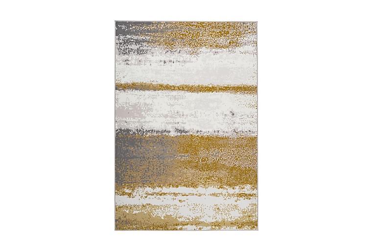 Jornes Matte Deig Gul 120x170 cm - Innredning - Tepper & Matter - Patchwork tepper