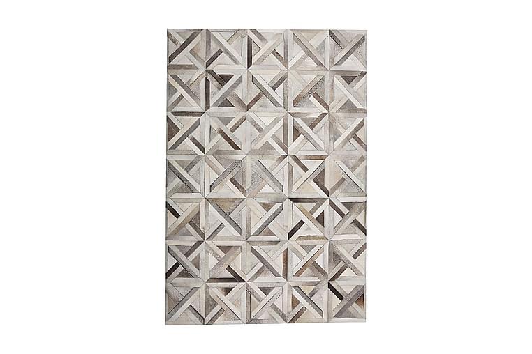 Taytan Matte 160x230 cm - Lær/Beige/Brun - Innredning - Tepper & Matter - Patchwork tepper