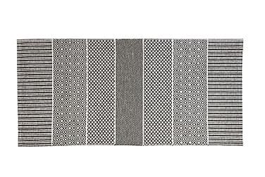 Alfie Plastmatte 150x250 Vendbar PVC Grå