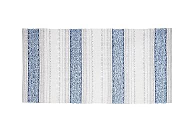 Anna Matte Miks 70x260 PVC/Bomull/Polyester Blå