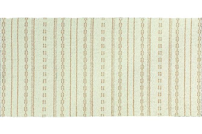 Asta Matte Miks 70x180 PVC/Bomull/Polyester Hvit - Innredning - Tepper & Matter - Plasttepper