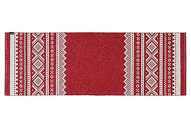 Björn Plastmatte 150x200 Vendbar PVC Rød