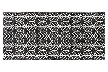Deco Plastmatte 70x50 Vendbar PVC Svart