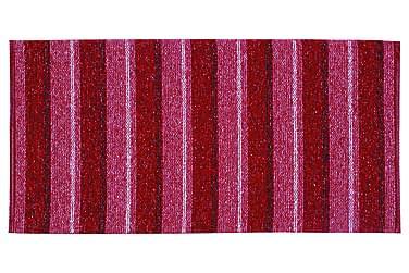 Life Matte Miks 70x260 PVC/Bomull/Polyester Rød