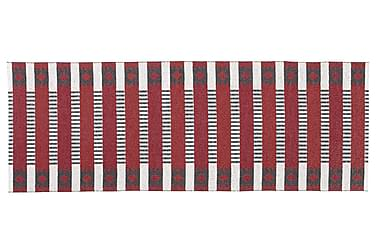Märta Plastmatte 150x250 Vendbar PVC Rød