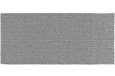 Ola Plastmatte 70x150 Vendbar PVC Svart